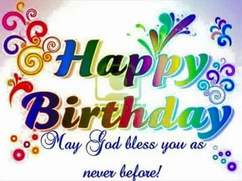 Happy birthday Happy Birthday Pinterest – Bible Verses Birthday Greetings