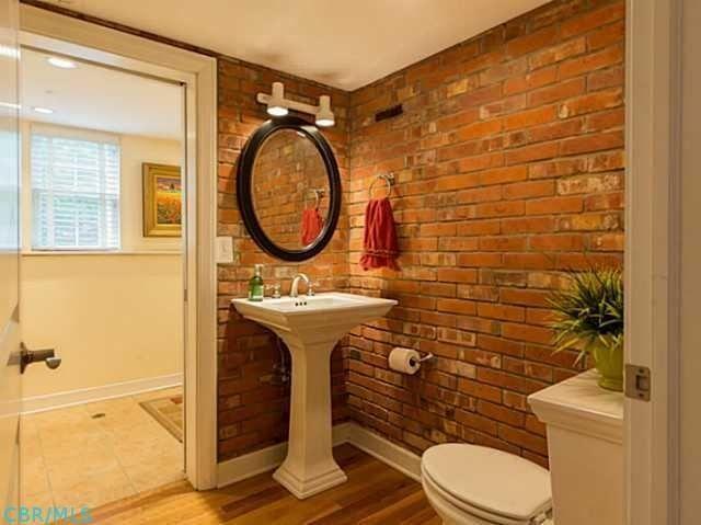 Die Besten 25 Ziegel Badezimmer Ideen Auf Pinterest Wc