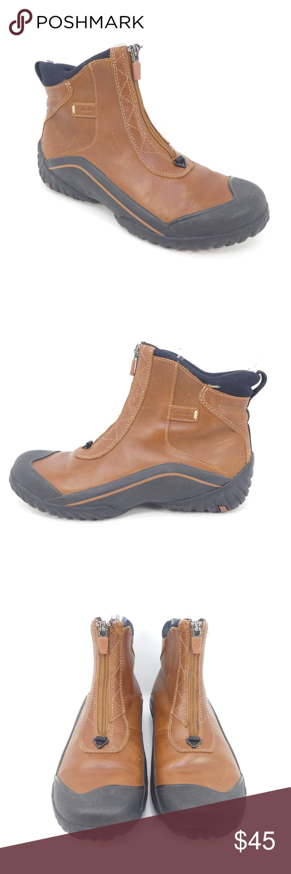 Clarks Muckers Waterproof Leather Ankle