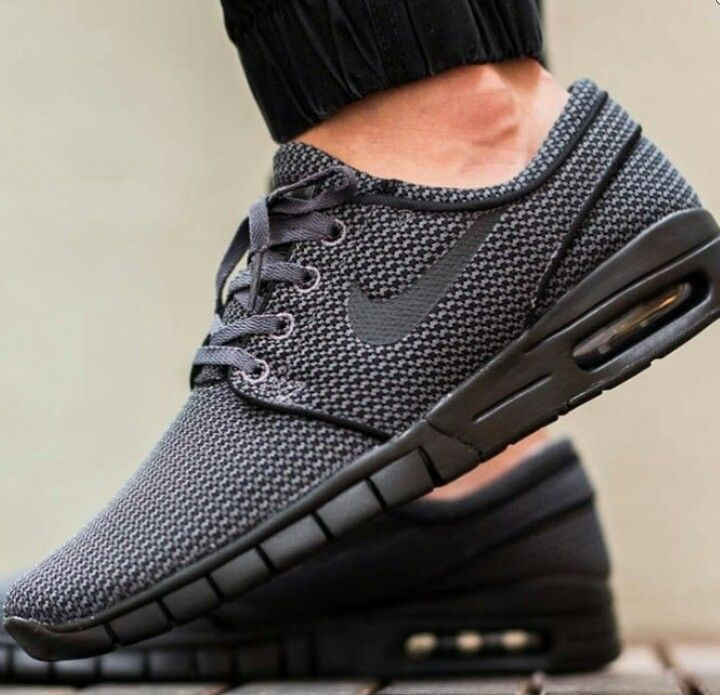 Sleek Black Nikes