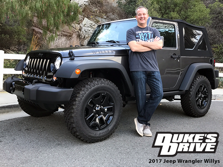 Duke S Drive 2017 Jeep Wrangler Willys Wheeler 2017 Jeep