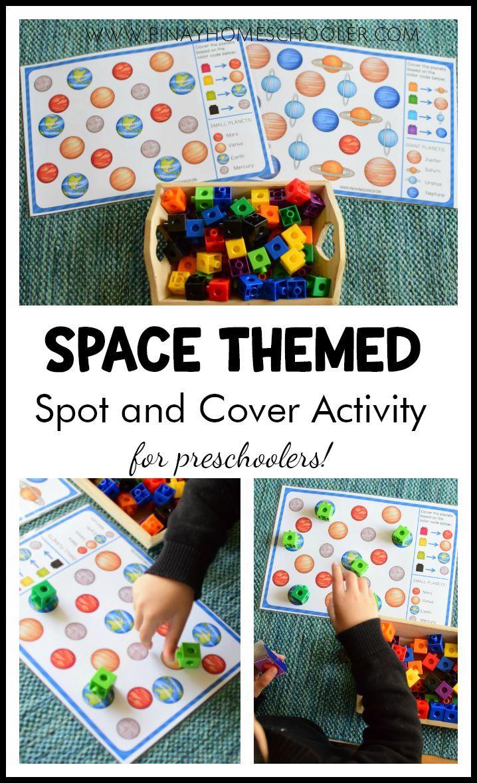 Solar System and Space Preschool Mini Unit | Space ...
