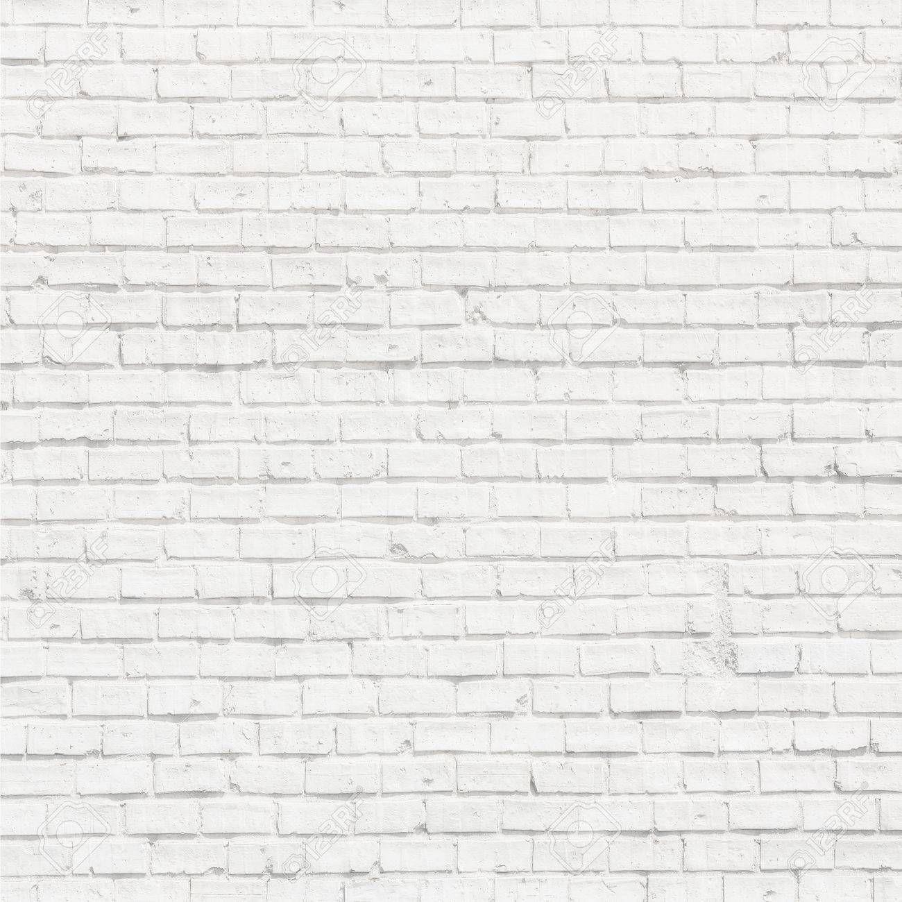 White Brick Wall For Background Or Texture побеленный кирпич белые кирпичные стены кирпичная стена