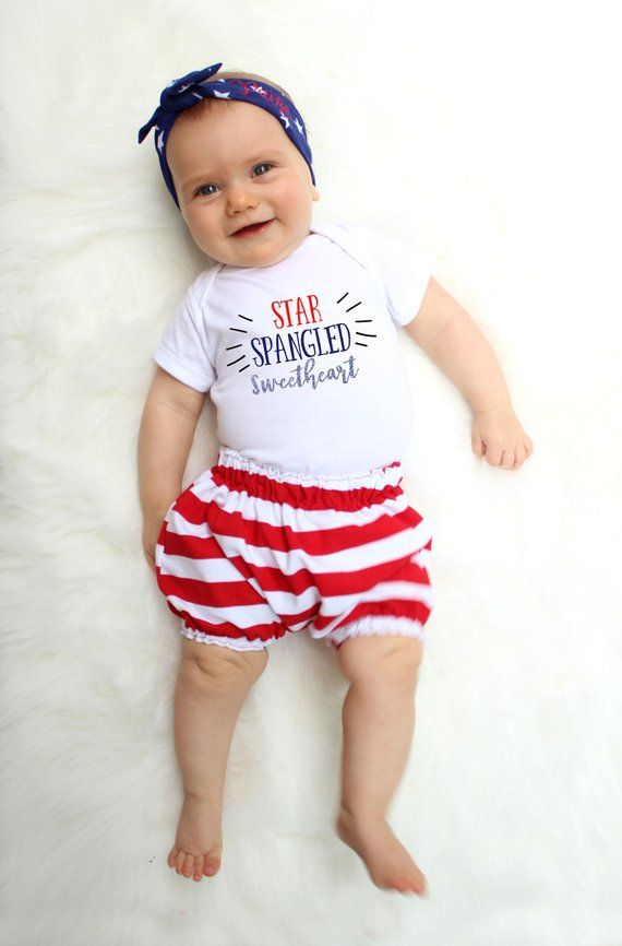 bbf7dceb5a5 Girl Fourth of July Outfit - July 4th Baby - Fourth of July Kids - 4th of July  Baby Girl - American