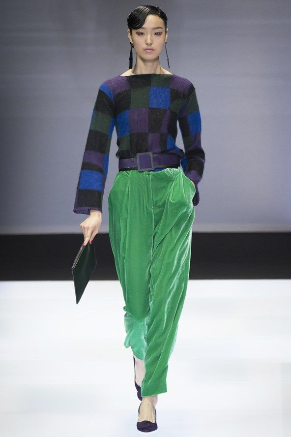 fe782378 Emporio Armani Autumn/Winter 2016 Ready-To-Wear show report | Style ...