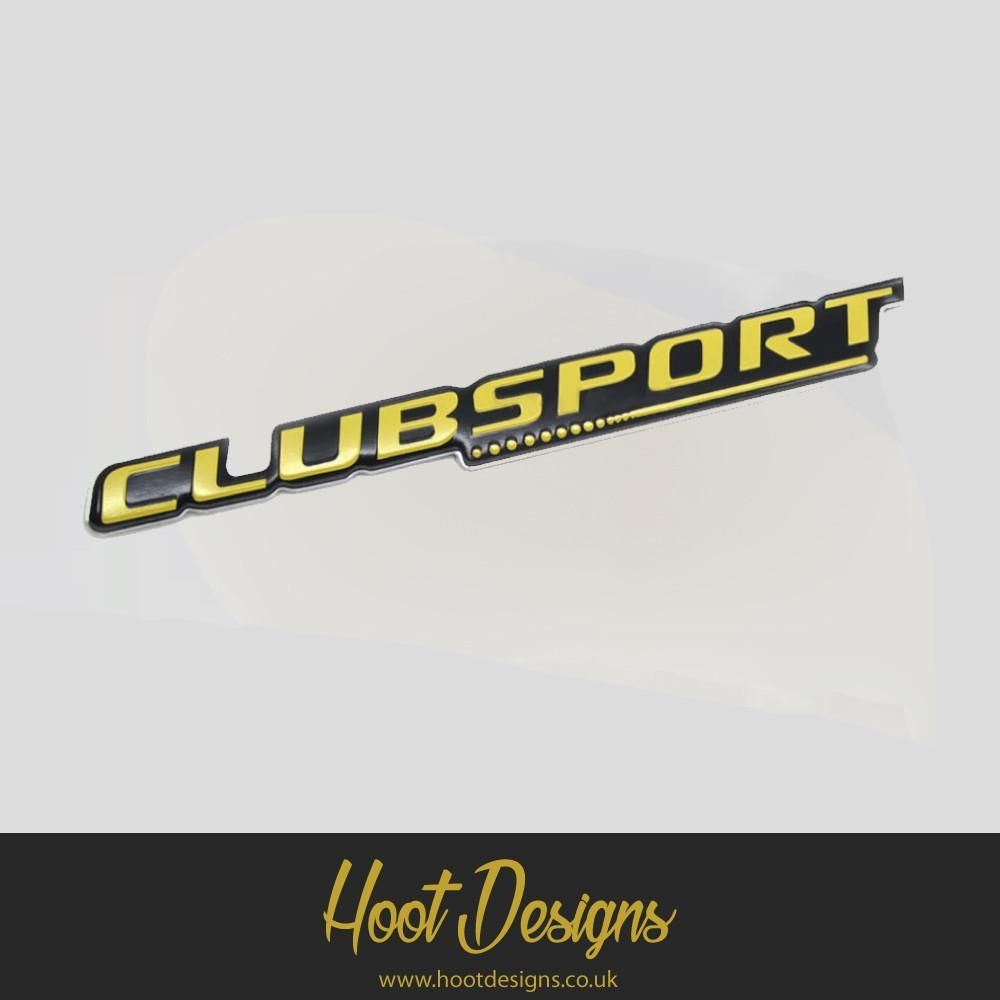 Mountune Clubsport Badge #Ford #Fiesta #Focus #ST #Mountune #Stance
