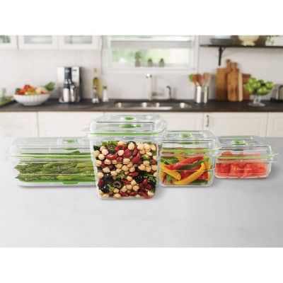 Foodsaver Vacuum Seal Containers 4 Piece Set And 2