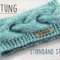 Kostenlose Anleitung: Stirnband mit skandinavischem Muster stricken #crochethooks