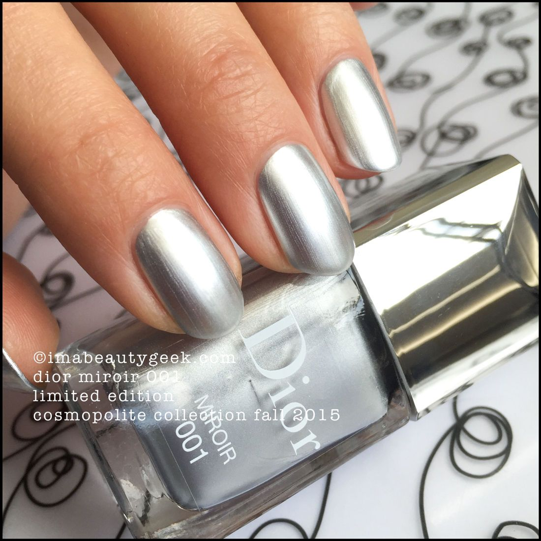 THIS IS DIOR MIROIR 001 | Dior and Swatch