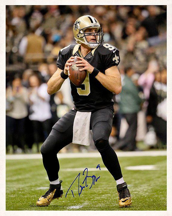 67b1b502e93 DREW BREES 8x10 Photo Autograph NEW ORLEANS SAINTS Quarterback NFL Football  RP