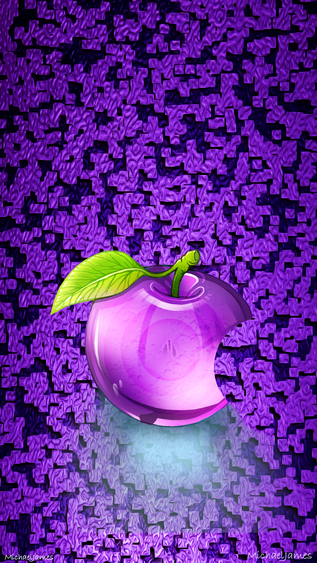 Purple Glass Apple Apple iPhone 5s hd wallpapers available