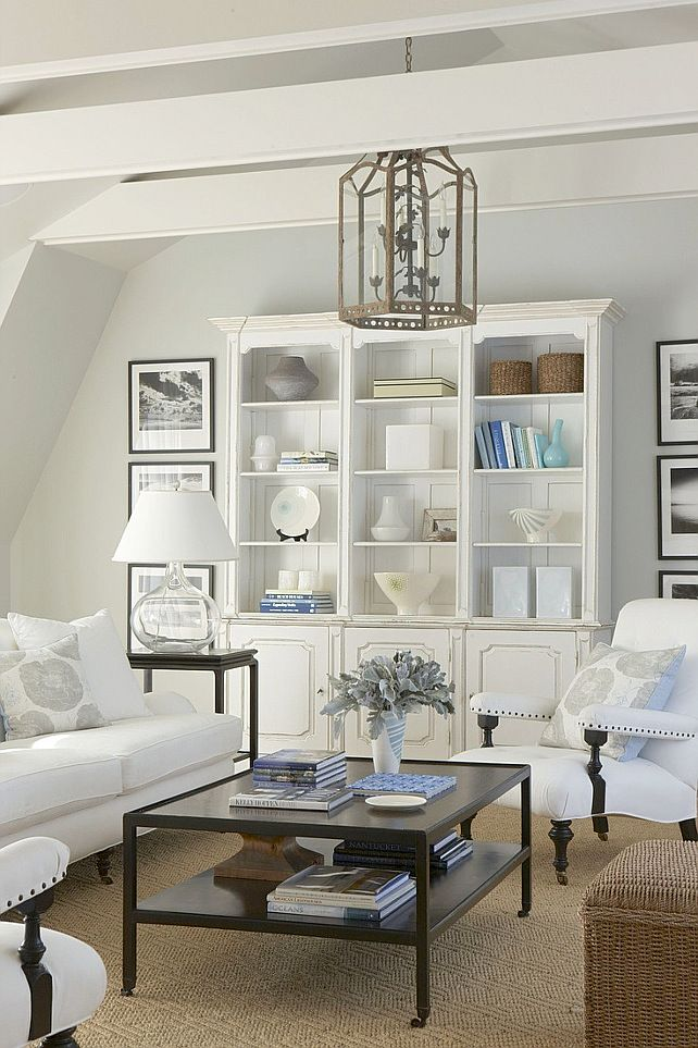 cool colour palette and sleekly arranged accessories give this hamptons style space its sophisticated look decor ideasdecorating ideasinterior also rh in pinterest