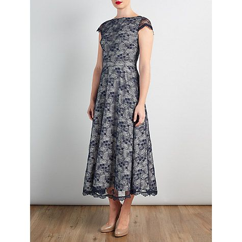 Buy Bruce by Bruce Oldfield Lace Dress, Navy Online at johnlewis.com ...
