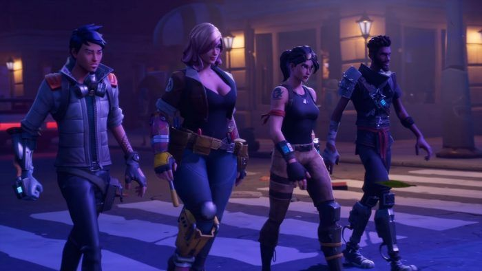 Fortnite, the co-op sandbox survival game by Epic Games