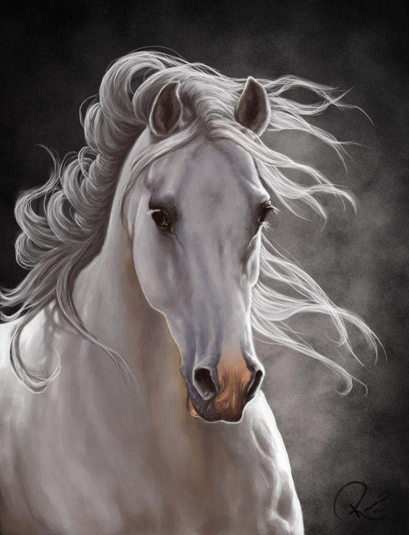 Alive By Nutlu On Deviantart Horse Art Equine Digital