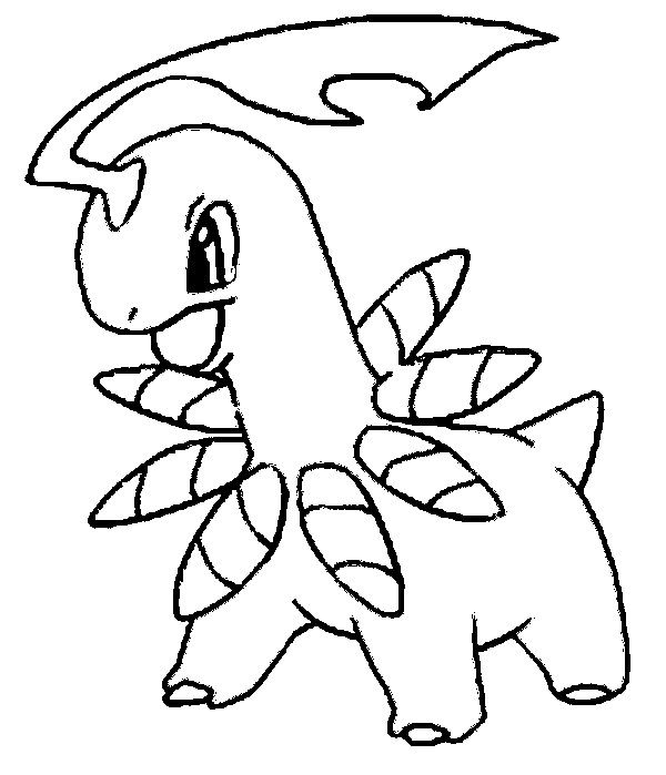 Bayleef Pokemon Coloring Pages Pokemon Sketch Drawings