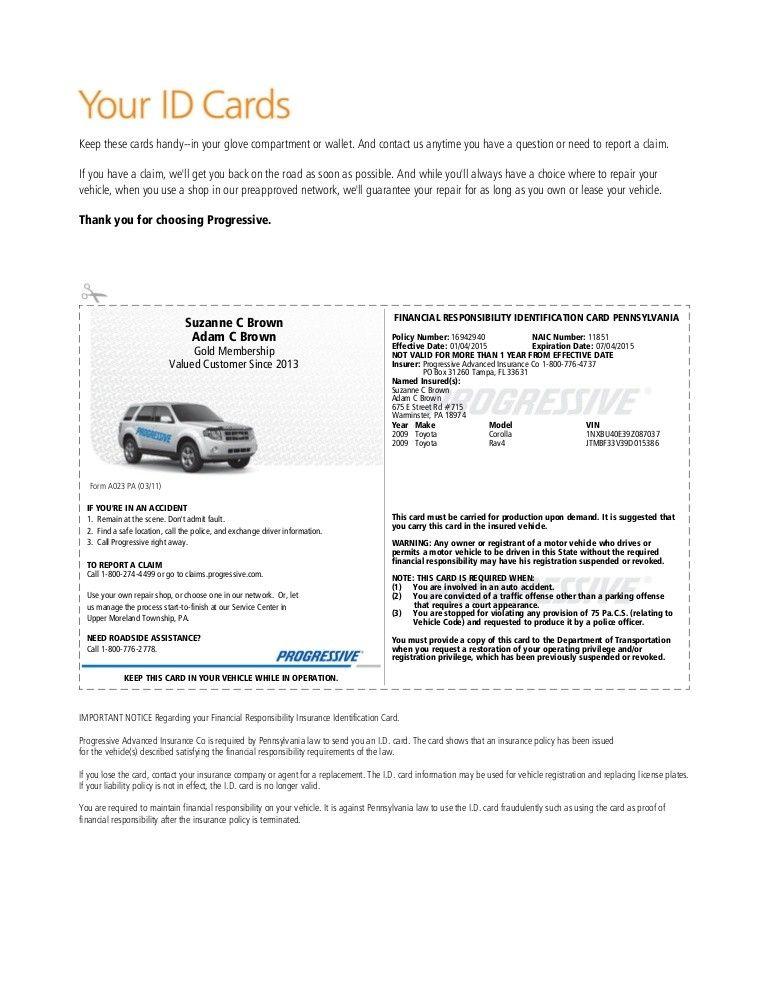 Free Fake Progressive Insurance Card 3 Common Misconceptions About Free Fake Progressive Ins Progressive Insurance Card Templates Free Id Card Template