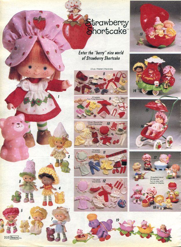 Strawberry Shortcake Vintage Toys Childhood