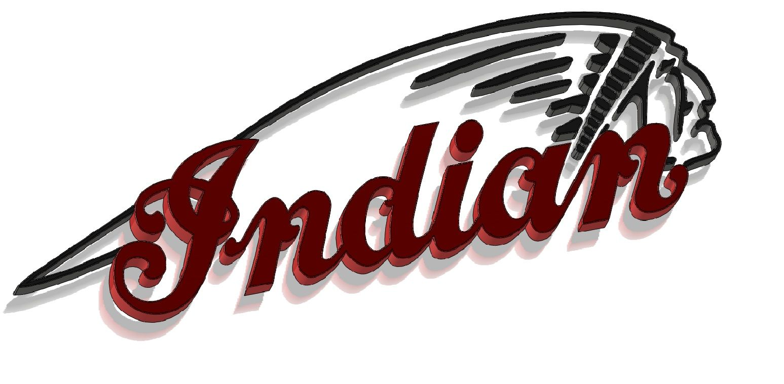 indian motorcycles solidworks 3d cad model grabcad logo rh pinterest com indian motorcycle logo svg indian motorcycle logo artwork