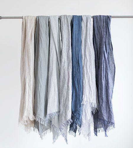Fog Linen Roserie Scarf | Selection 1 | Various Colours