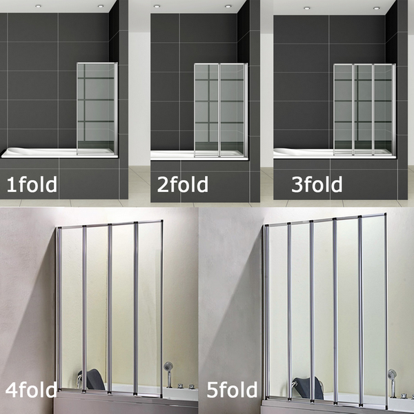 1/2/3/4/5 Panel Folding Shower Bath Screen Starting At: £47.99 Model Code: Fold  Screens Http://aicabathrooms.co.uk/12345 Panel Folding Shower Batu2026