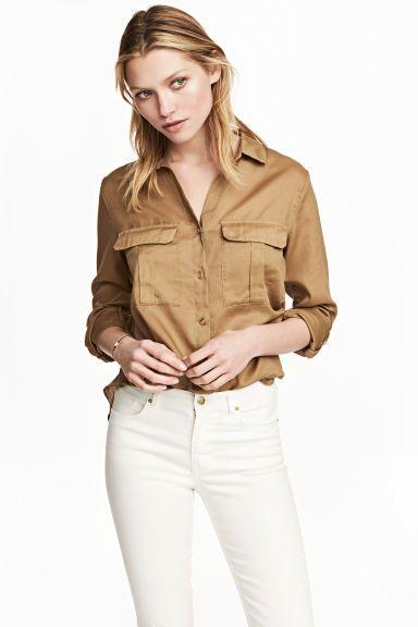 f29b8fd687 Utility ing - Bézs - NŐI | H&M HU 1 | My style | Shirts, H&m és ...