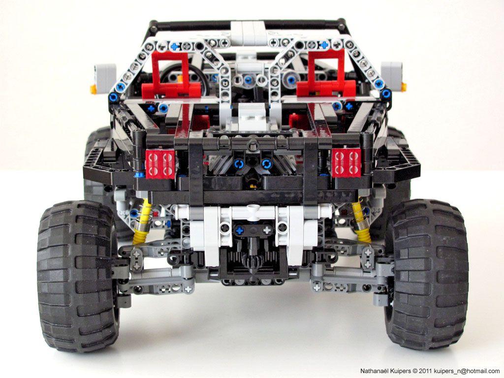 Jeep Hurricane Back Jeep Creaciones De Lego Legos