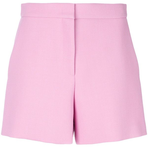 tailored high-waisted shorts - Green Emilio Pucci 0sLv0