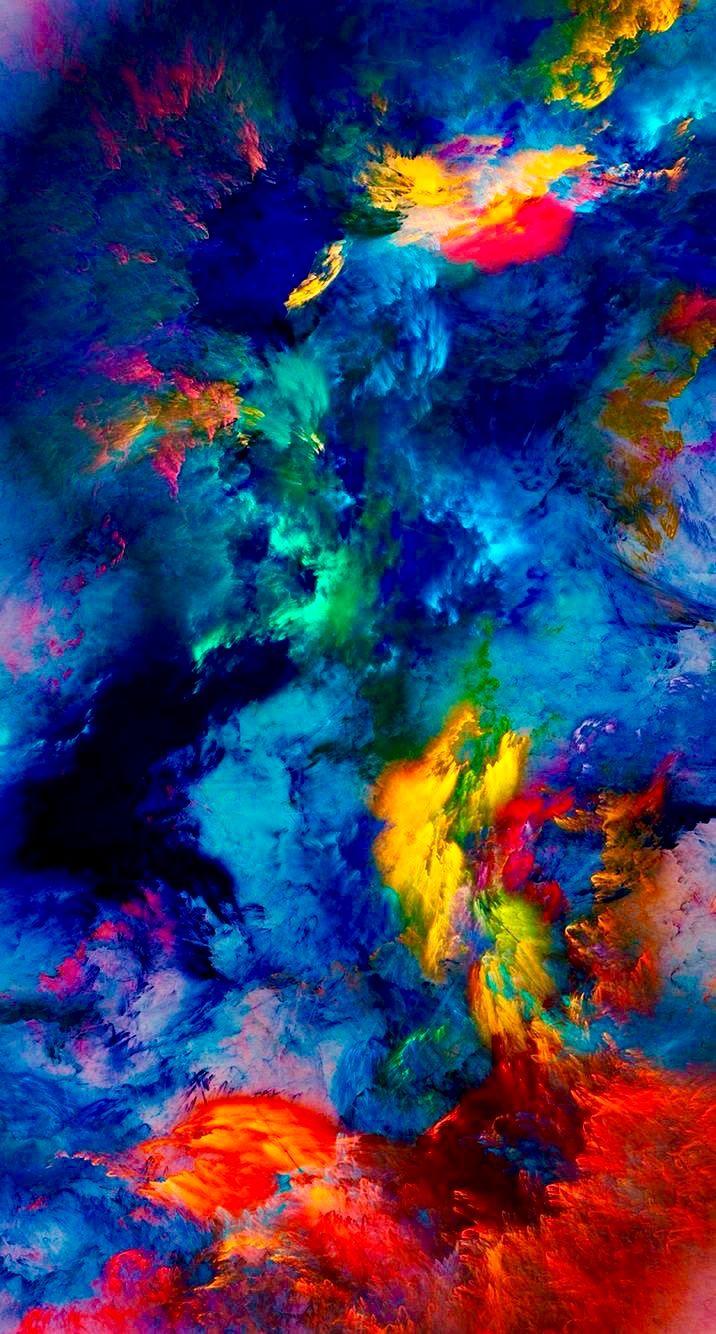 Iphone Wallpaper 4K Hdr Trick in 2020 Colorful wallpaper