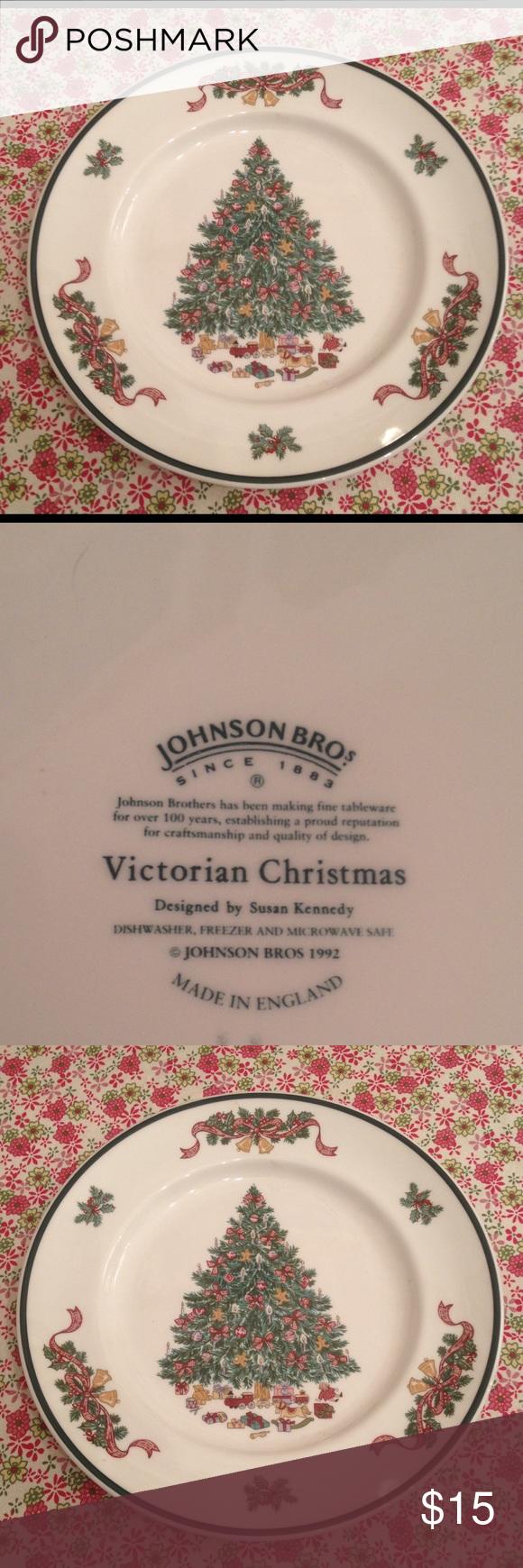 Johnson Brothers Victorian Christmas plate | Pinterest | Victorian ...