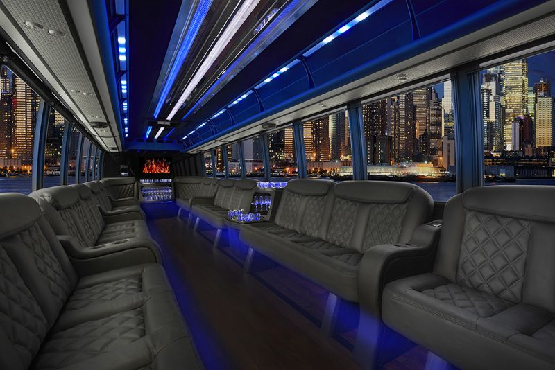 City of san diego party bus rental party bus san diego