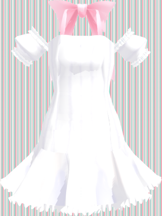 Mmd White Summer Dress Download By 9844 Mmd White Dress Summer