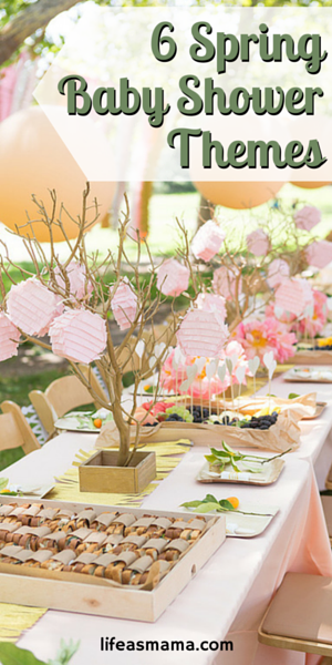 6 Spring Baby Shower Themes Mamas Heart Pinterest Party