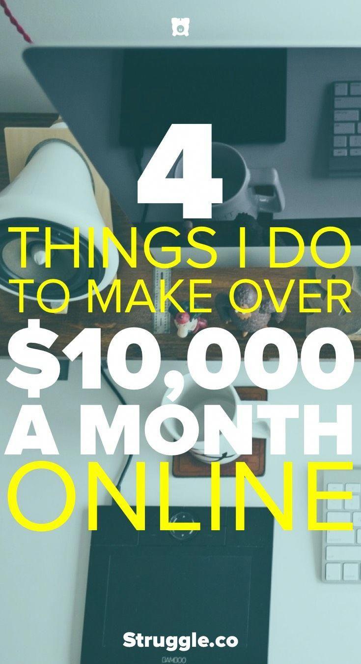 Online Geld verdienen: Was ich tue, um von zu Hause aus 50.000 US-Dollar im Monat zu verdienen   – Money$