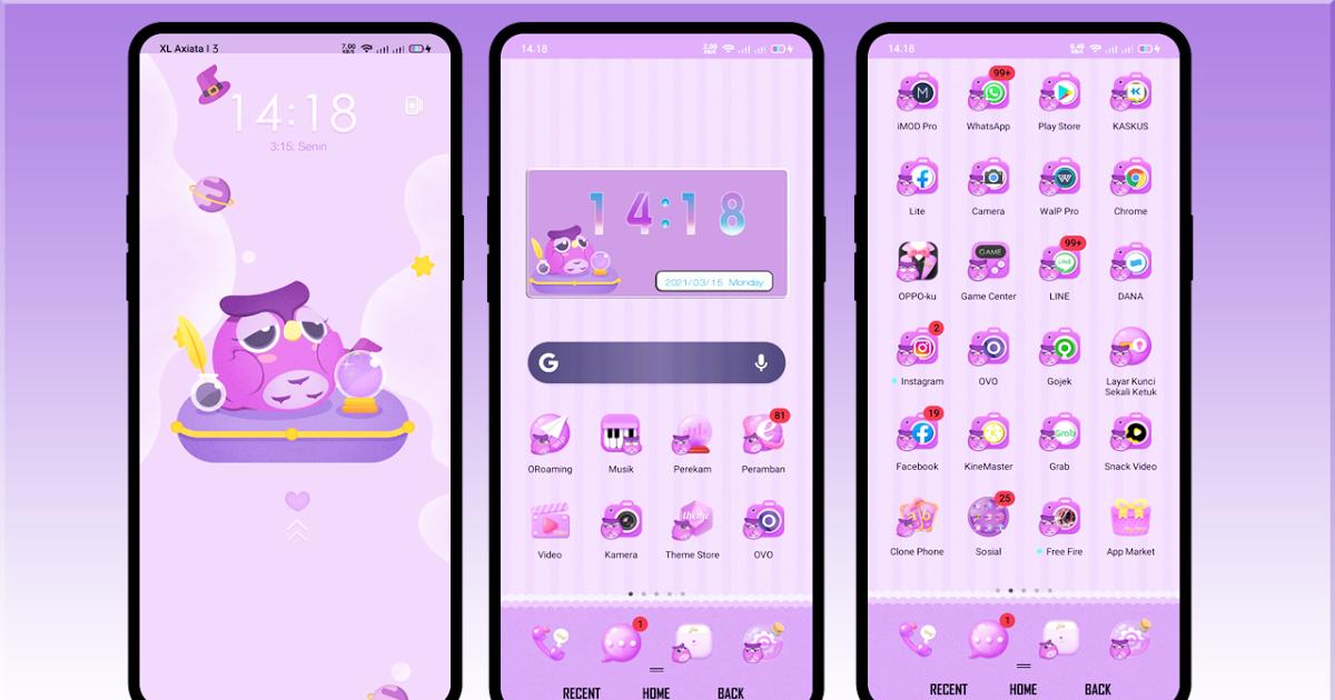 Download Mudah Tanpa Password Tema Cute Oppo Tembus Semua Aplikasi Full System Coloros Di 2021 Aplikasi Layar Kunci