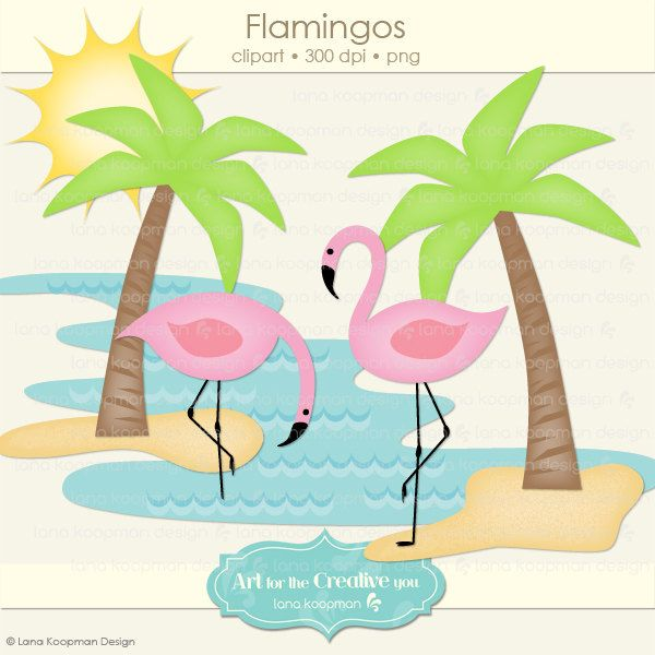 Pink Flamingos Clip Art Free