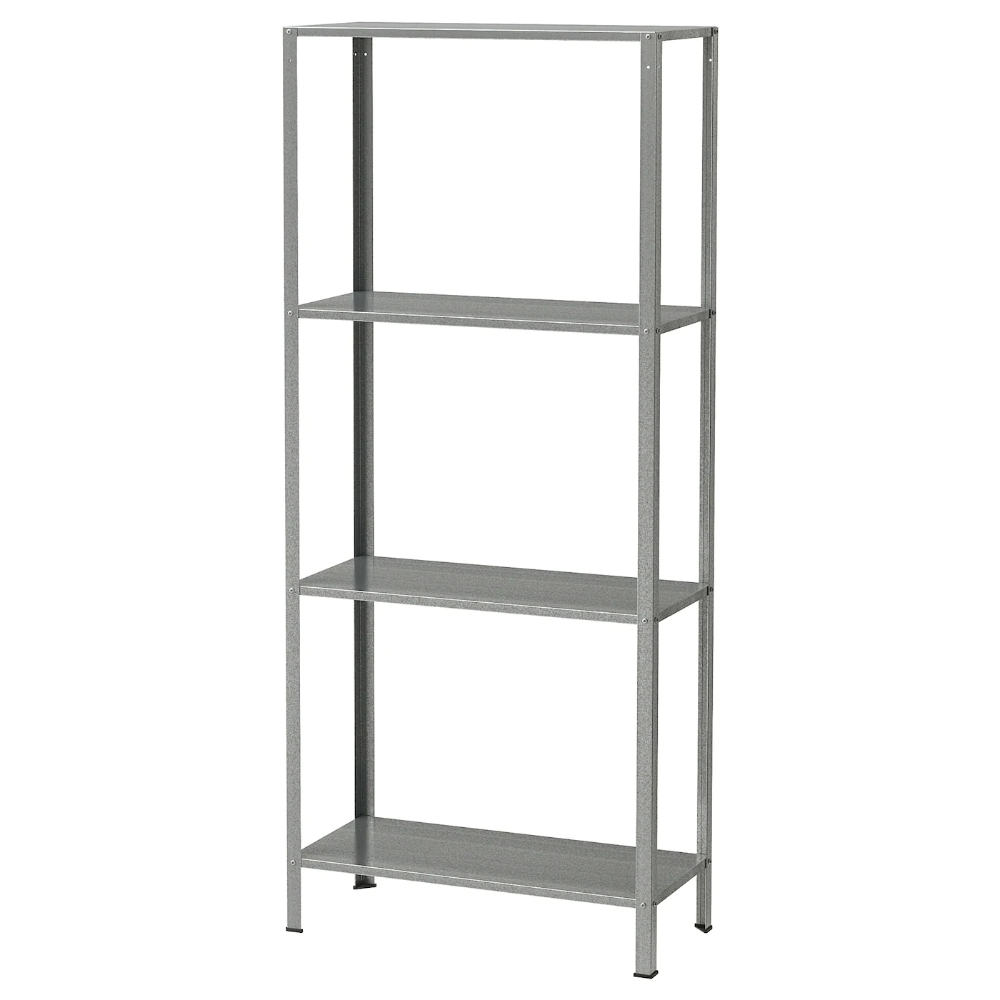 Hyllis Shelf Unit Indoor Outdoor Galvanized Ikea In 2020 Ikea Shelves Ikea Shelving
