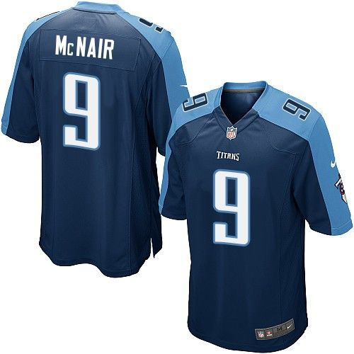 73f918fc2 Nike Limited Steve McNair Navy Blue Youth Jersey - Tennessee Titans  9 NFL  Alternate