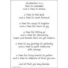 Graduation Poem For A Page Sticker Graduation Poems Preschool
