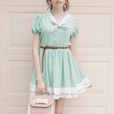 "Cute kawaii sailor dress - Use the code ""batty"" at Sanrense for a 10% discount!"
