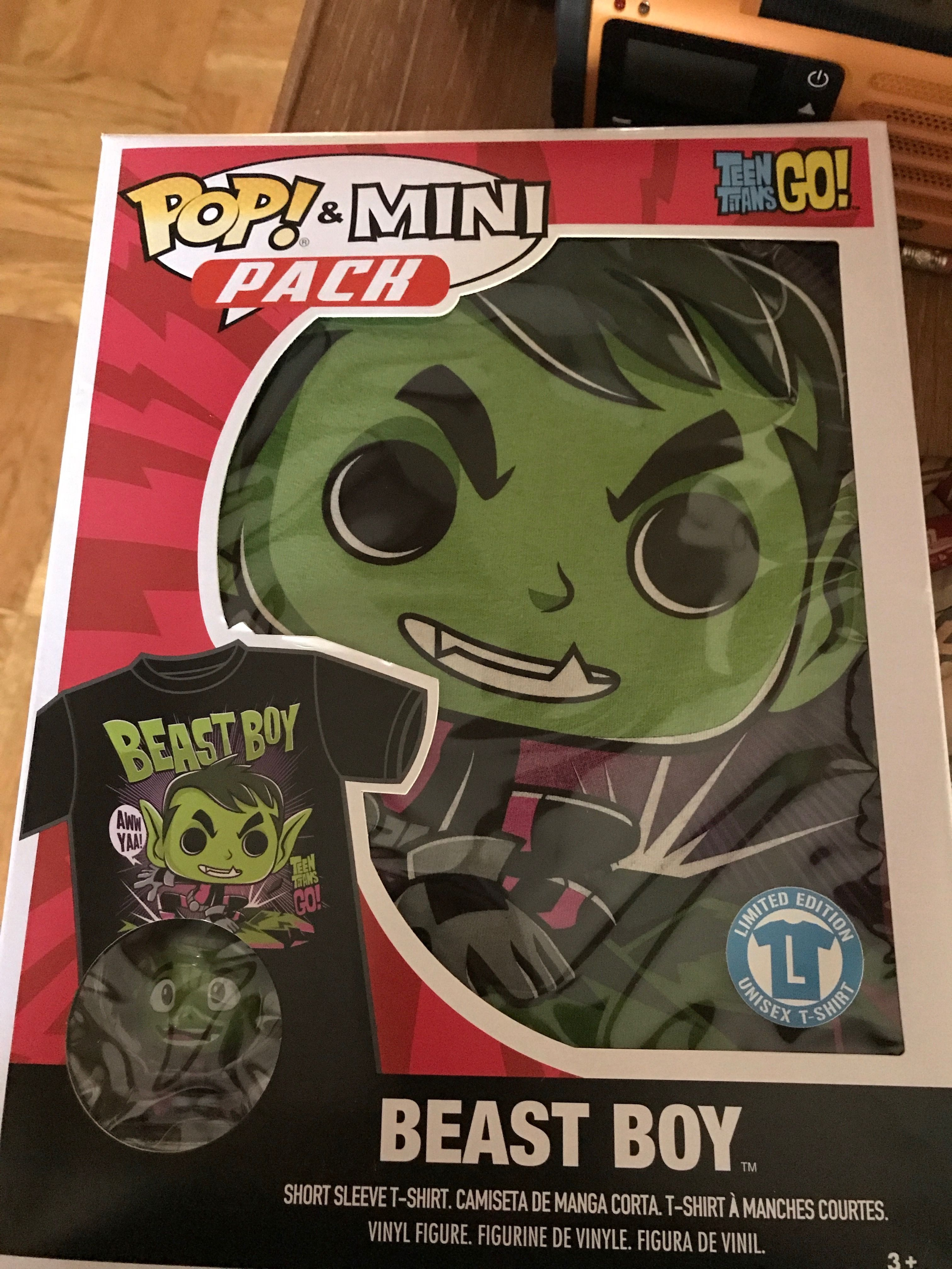 Got This Cool Beast Boy Shirt At My Local Toys R Us Store Closing