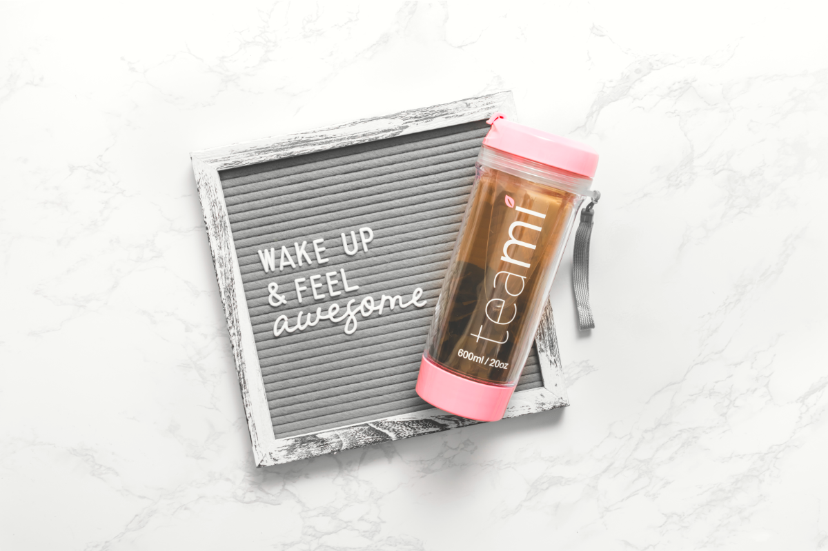 Wake up & FEEL awesome! The Teami Starter Pack has