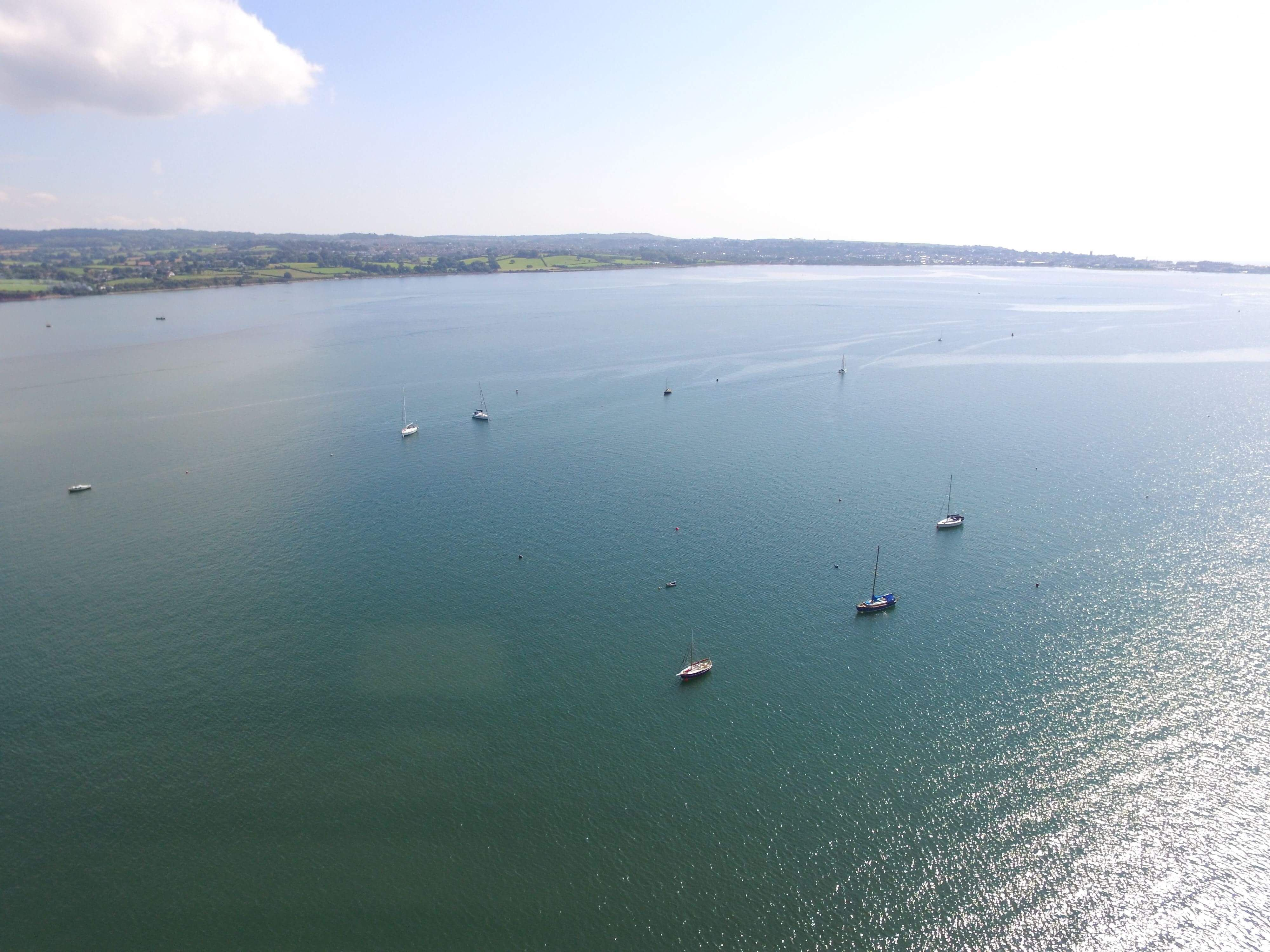 Plenty of boat activity on the Exe Estuary Water, Boat