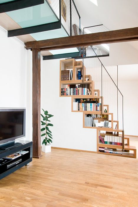 Steps To Saving Space: 15 Compact Stair Designs For Lofts, From The Other  Side!