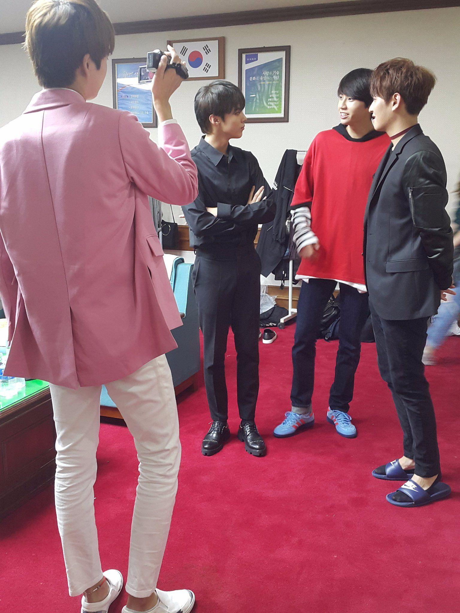 161021 UP10TION Wooshin | Wei & Kogyeol #UP10TION #업텐션 #Wooshin #우신  #Kogyeol #고결  #Wei #웨이