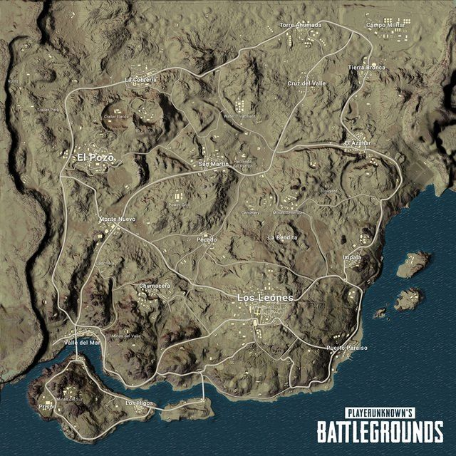 Upcoming desert map from pubg is called miramar news gadgetabor playerunknowns battlegrounds datamine suggests desert map name changes gumiabroncs Gallery