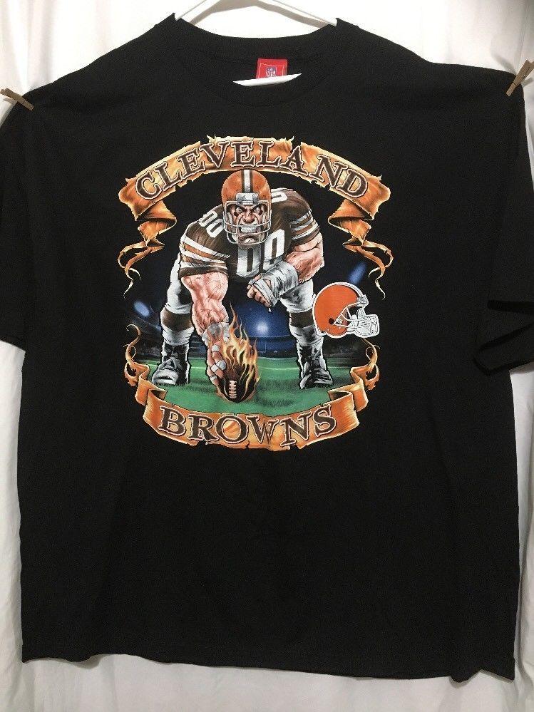 d1f38123 Cleveland Browns 4XL Shirt NFL New #NFL #ClevelandBrowns | Hey ...