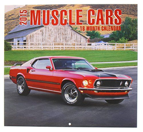 16 Month Muscle Cars Design 2015
