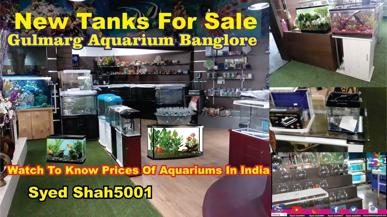 Imported Fish Tanks Prices At Gulmarg Aquarium, one of