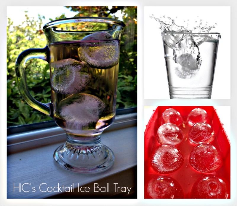 HIC Cannonball l Ice Ball Tray makes ice spheres that keep your beverage super cool, plus it's great for baking cake bites too!  Watch us put the Cannonball Ice Ball Tray to work: http://hickitchenblog.com/2013/06/27/cocktail-ice-ball-tray-does-double-duty-makes-perfect-round-ice-cubes-and-delicious-cake-bites/